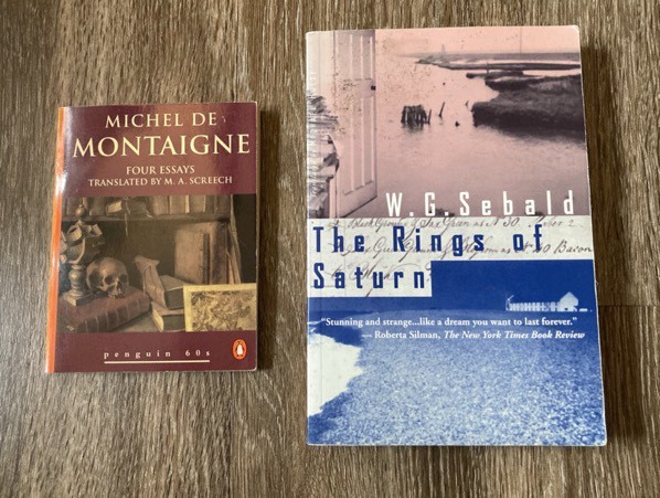 Four Essays by Montaigne and The Rings of Saturn by WG Sebald