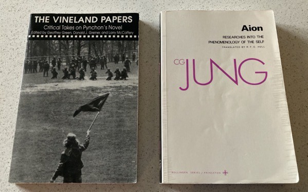 The Vineland Papers edited by Green, Grenier, and McCaffery and Aion by CG Jung