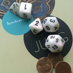 Jung's Synchronicity, dice, three pennies