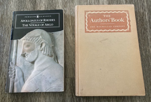 The Voyage of the Argo by Apollonius of Rhodes and The Authors' Book by the Macmillan Company