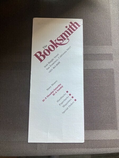 The Booksmith in San Francisco
