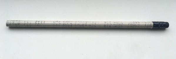 Musgrave Newspaper pencil