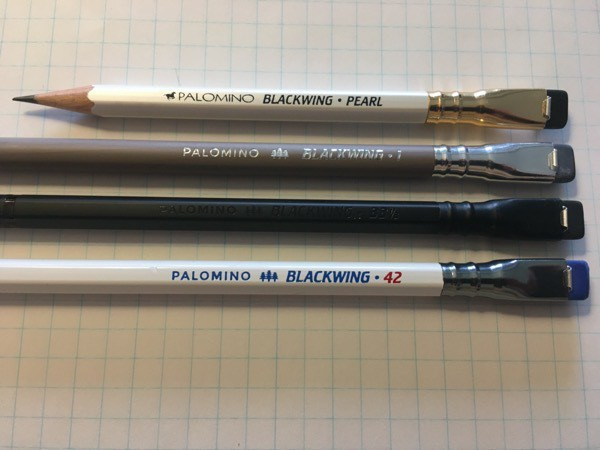 some more Blackwing pencils