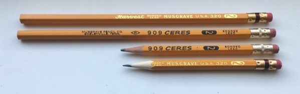 Musgrave Harvest and Ceres pencils