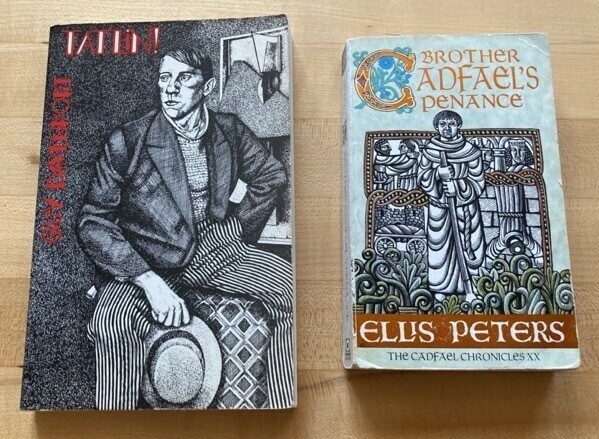 Tatlin! by Guy Davenport and Brother Cadfael's Penance by Ellis Peters